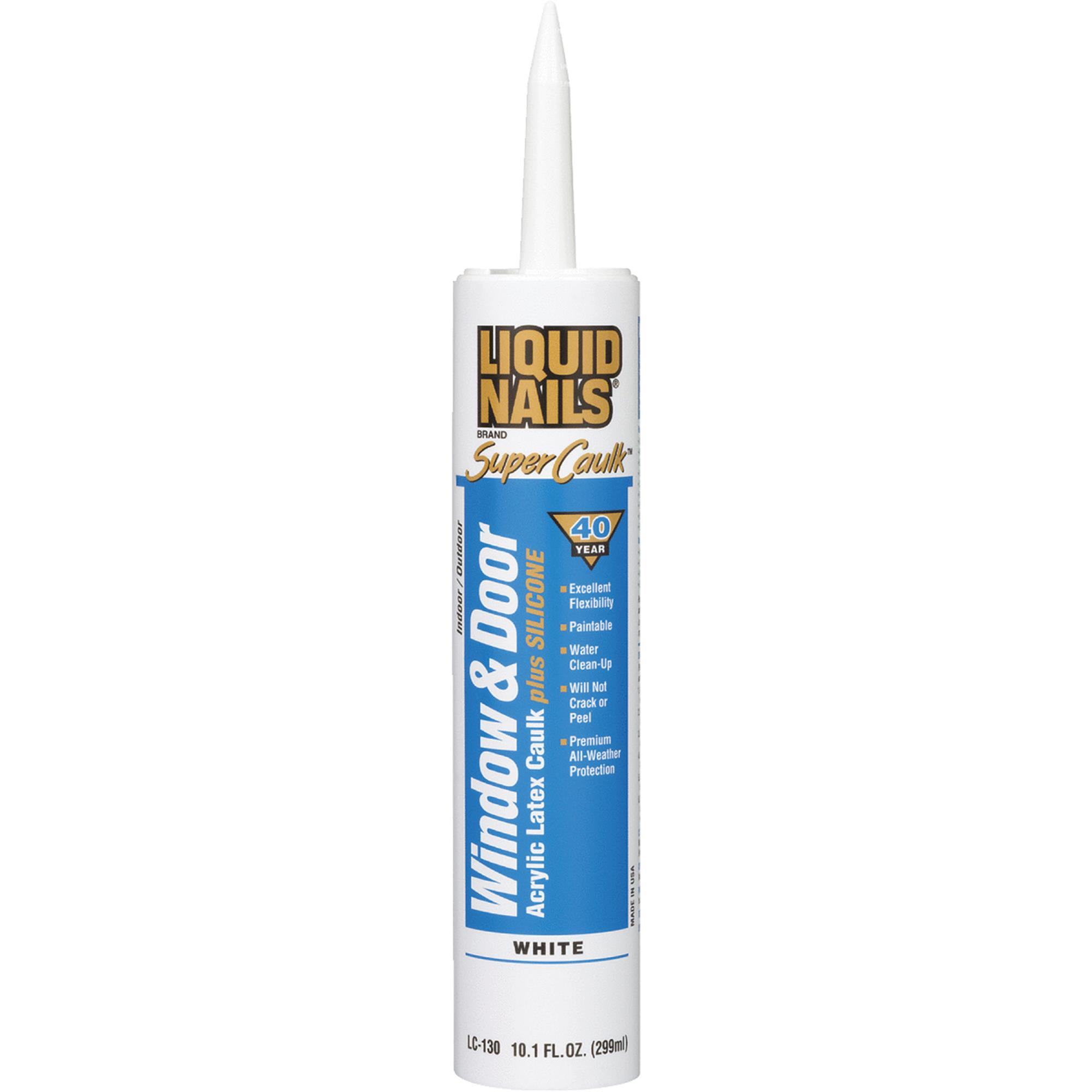 Amazing LIQUID NAILS Super Caulk Window & Door Acrylic Latex Caulk Plus Silicone For Your Plan - Minimalist siliconized acrylic caulk Minimalist