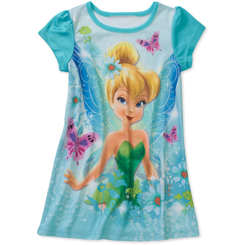 Disney Baby Girls' Tinkerbell Nite Gown