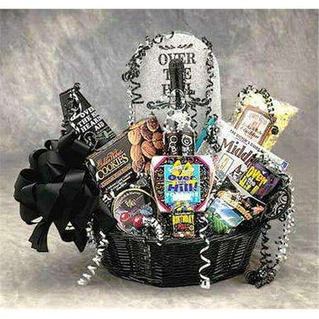 SOAP & SALVE COMPANY Over The Hill Birthday Basket- Medium- 86022