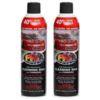 FW1 Cleaning Waterless Wash & Wax with Carnauba Car Wax (2-Pack) by FW1