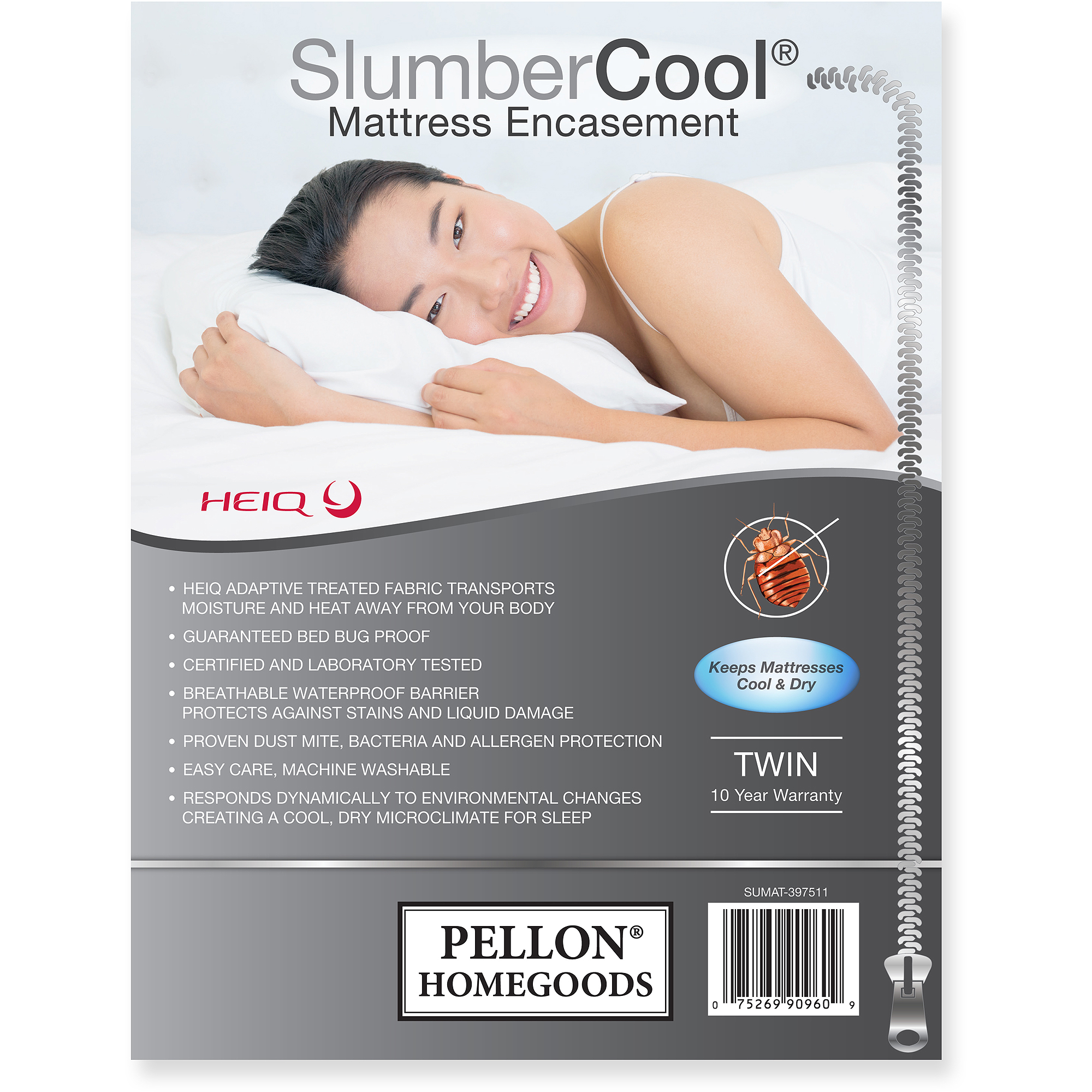Pellon Slumber Cool Mattress Encasement