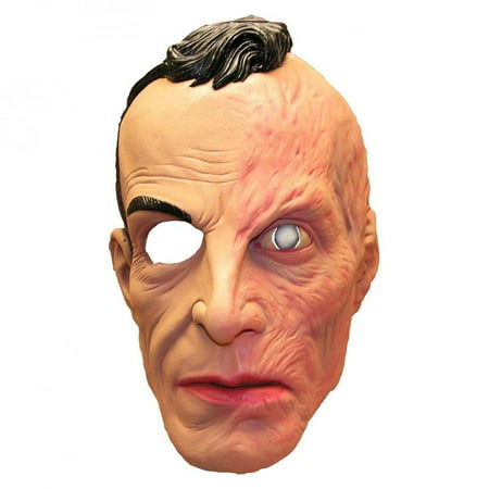 American Horror Story 1/2 Burned Face Larry Harvey Adult Costume Mask One Size](Horror Mask Designs)