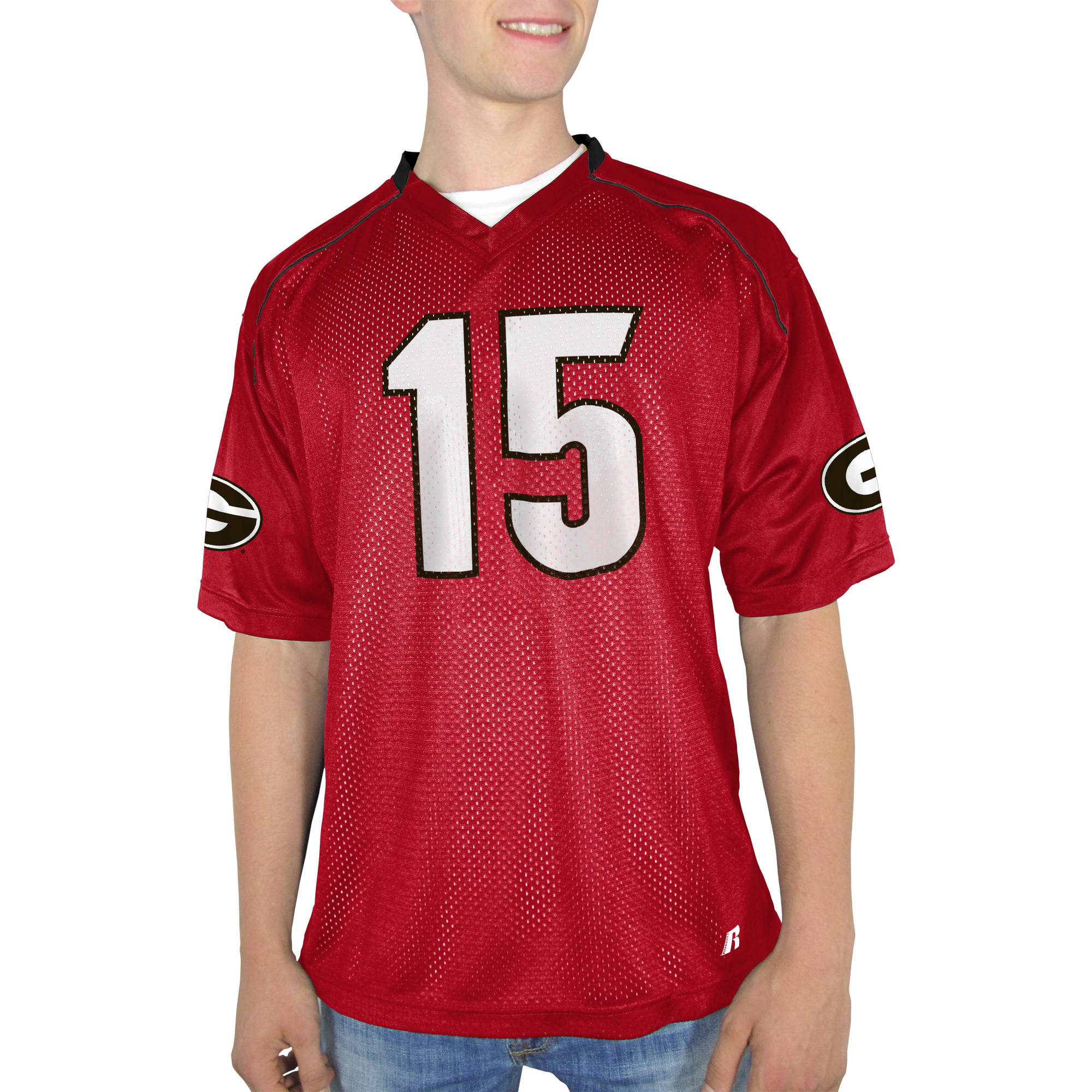 Russell NCAA Georgia Bulldogs Men's    Jersey