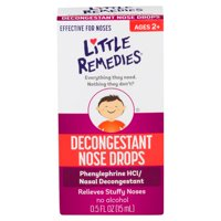 Little Remedies Decongestant Nose Drops, Ages 2-6, 0.5 FL OZ