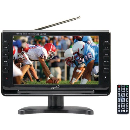 Supersonic SC-499 9″ TFT Portable Digital LCD TV