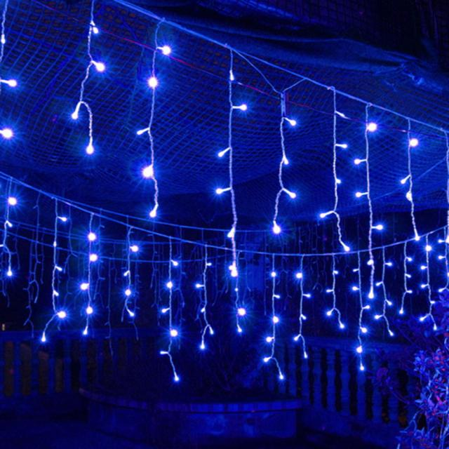 120 LED Fairy String Solar LED Bulb Light For Wedding Party Xmas Garden Decor BU