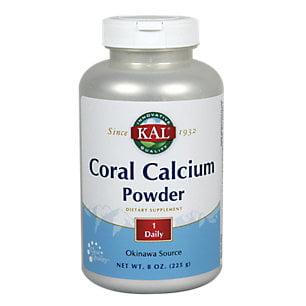 Coral calcium Kal 8 oz poudre