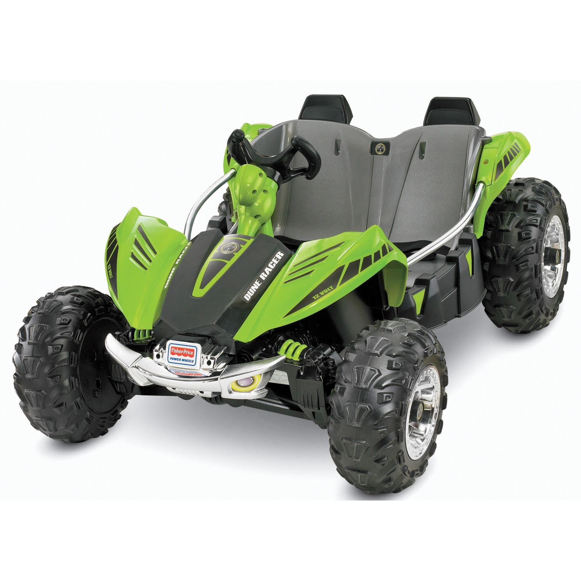 Power Wheels Dune Racer 12 Volt Battery Powered Ride On Ground Off The Leg Of Pull Form Batteries In Series