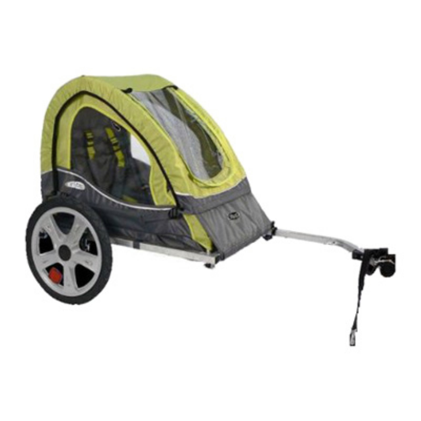 InStep Sync Single Child Bike Trailer - Green/Grey