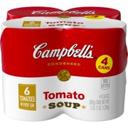 Campbell's Condensed Tomato Soup, 10.75 oz. Cans (4 pack)