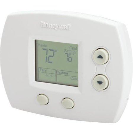Honeywell 24 volt digital heat cool thermostat for Th 450 termostato