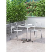 Donzo Dining Chair Gray (Set of 2)