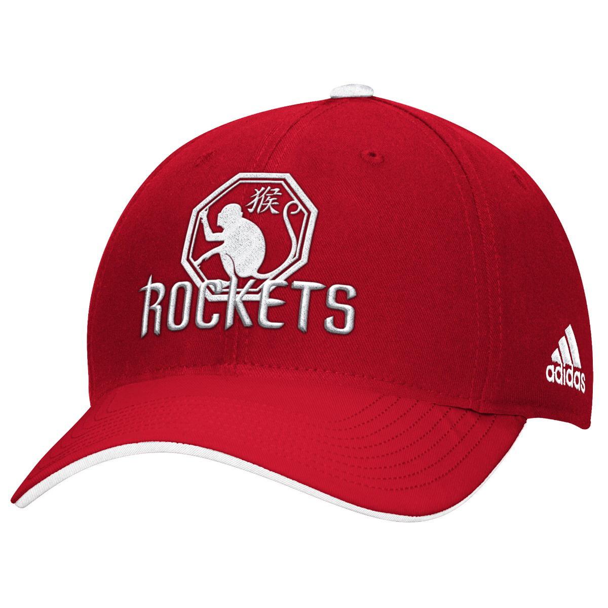 "Houston Rockets Adidas NBA ""Mandarin"" Structured Adjustable Hat"