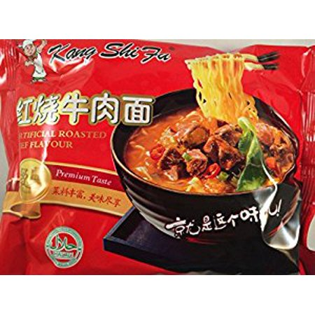 Kang Shifu Artificial Roasted Beef Flavor Instant Noodle 5 (Beef Noodle)