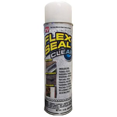 Flex Seal Spray Rubber Sealant Coating, 14-oz, Clear ()