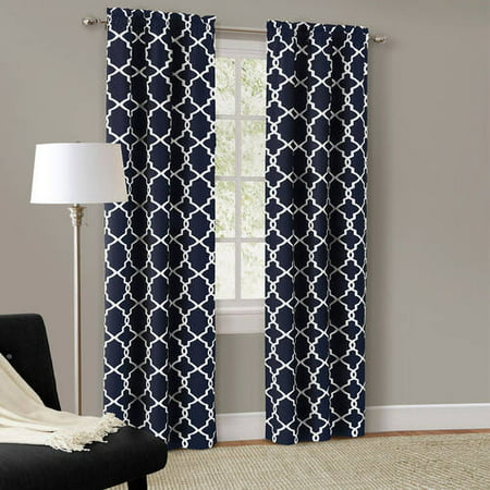 Curtains Ideas cheap brown curtains : Mainstays Calix Fashion Window Curtain, Set of 2 - Walmart.com