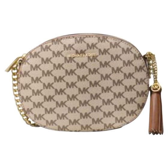 5865a3318b16 Michael Kors - Ginny Medium Messenger Cross body Bag - Walmart.com