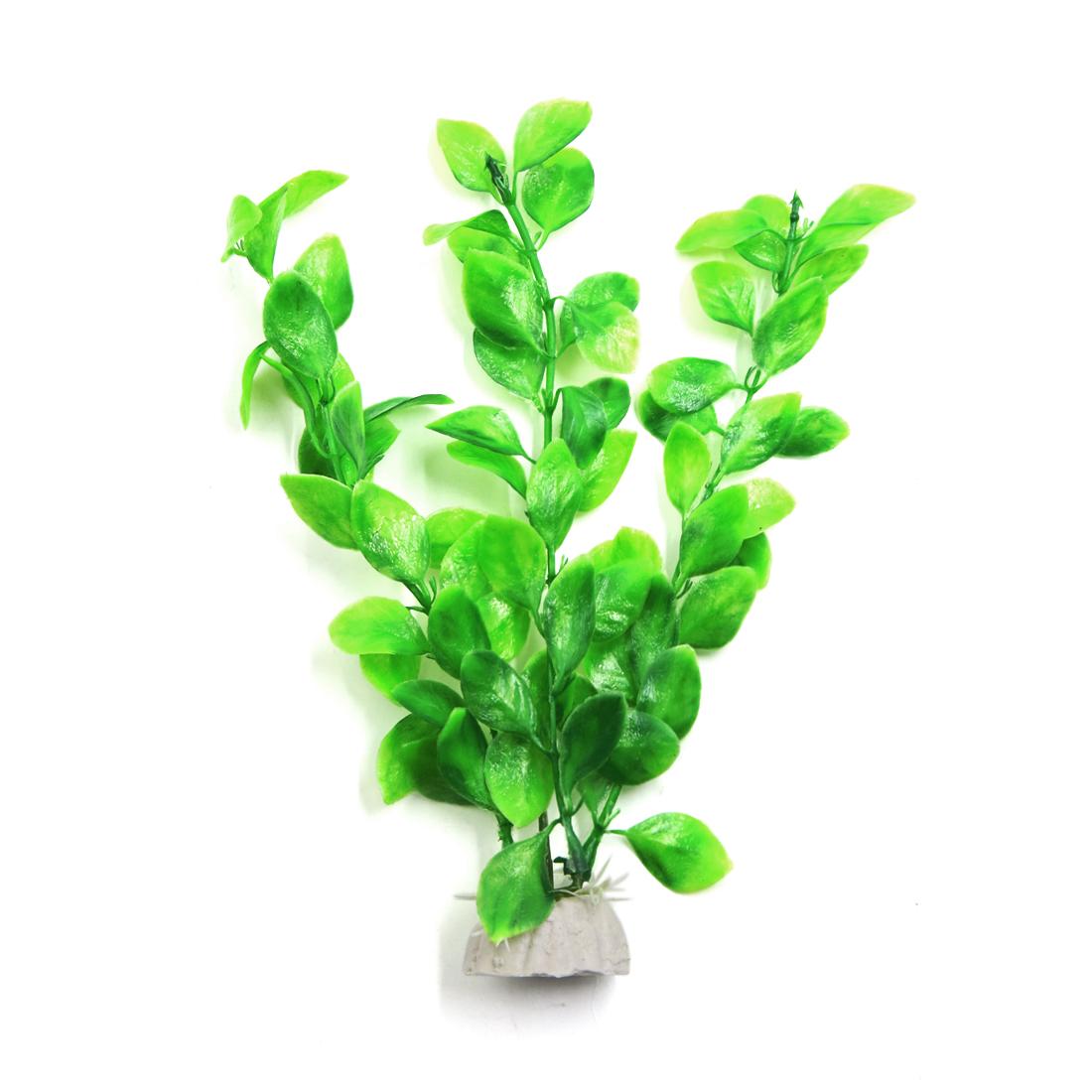 6pcs Aquarium Plantes Ornement Décoratif d'eau Plante Violet - image 1 de 3