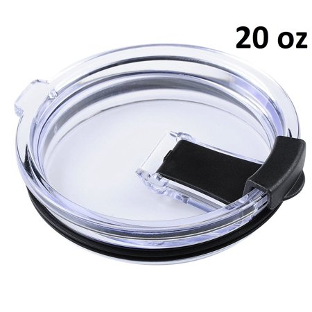 New 20Oz Spill Proof Lid For Yeti  Rtic And Other Tumblers  20Oz  Black