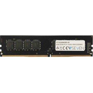 V7 V7192008GBD Memory Module - 8GB DDR4 2400MHz PC4-19200 Unbuffered - DIMM