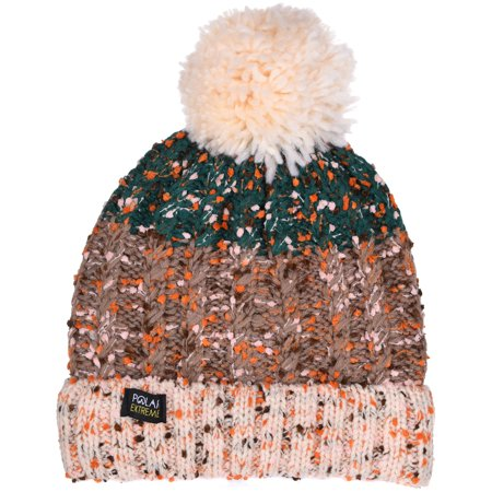 Women's Polar Extreme Insulated Thermal Old Fashion Knit Beanie 3 Great Patterns
