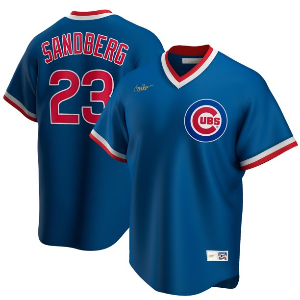 Ryne Sandberg Chicago Cubs Nike Road Cooperstown Collection Player Jersey - Royal