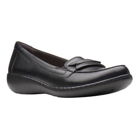 Women's Clarks Ashland Lily Loafer (Clarks Brown)