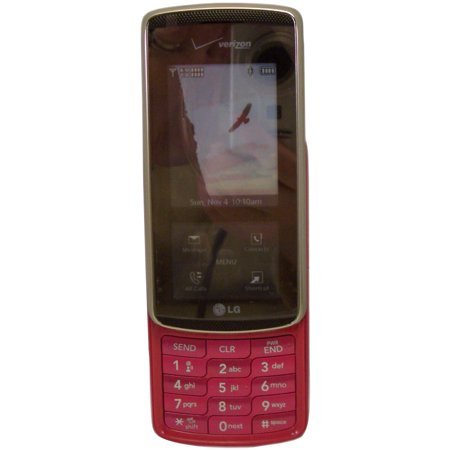 LG VX8800 Venus Verizon Slider Phone Pink - Mock Dummy Display Replica Toy Cell Phone Good For Store Display Or For Kids To Play Non-Working Phone Model
