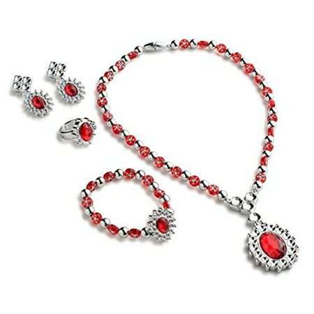 Royal Princess Jewelry Set for Girls which contains Princess Necklace, Princess Bracelet, Princess Ring and Princess Earrings by Dress Up America](Hollywood Stars Dress Up Ideas)