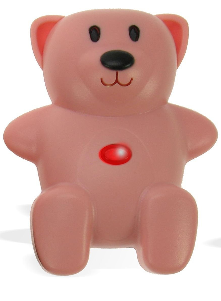 Mommy I'm Here Child Locator Bear - Pink