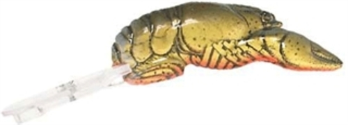 "F77 Rebel 1.5"" Teeny Wee Crawfish 1 10 oz Moss Crawfish Fishing Lure by Rebel"