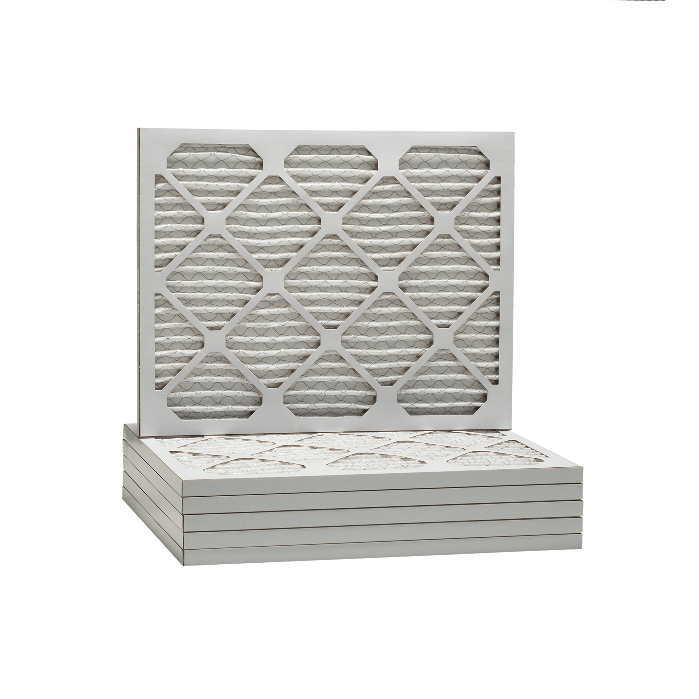 16-1 4x21-1 2x1 Dust & Pollen Merv 8 Pleated Replacement AC Furnace Air Filter (6 Pack) by Tier1