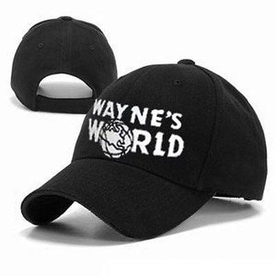 Waynes World Embroidered Baseball Cap Hat