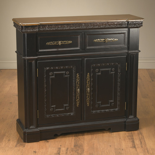 AA Importing 2 Drawer and 2 Door Cabinet by AA Importing