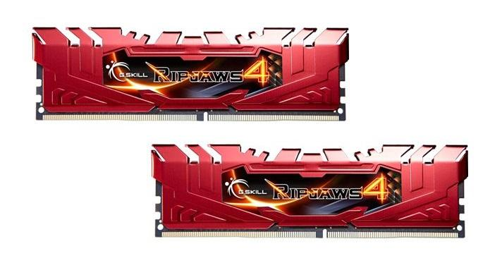 8GB G.Skill Ripjaws 4 DDR4 2666MHz PC4-21300 CL15 Dual Channel kit (2x4GB)