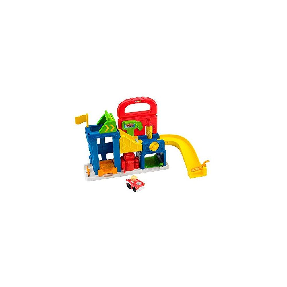 Fisher Price little people wheelies garage