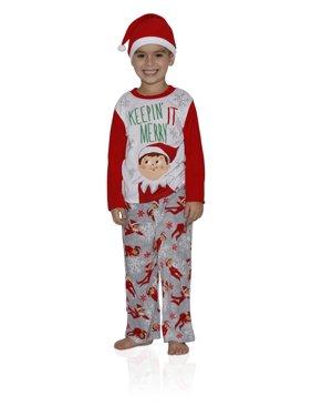 c034a14fa The Elf on the Shelf Kids  Sleepwear - Walmart.com