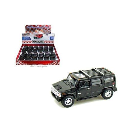 KINSMART 1:40 DISPLAY 2008 HUMMER H2 SUV 1 ITEM WITHOUT RETAIL BOX KT5337DM