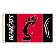 NCAA Cincinnati 3' x 5' Flag
