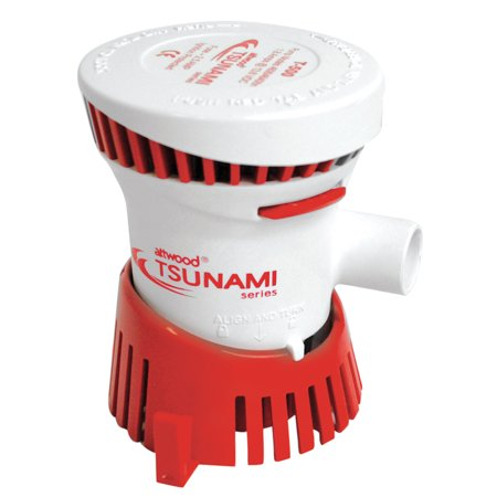 Attwood Tsunami T500 GPH Bilge Pump FO-2710 (Manual Bilge Pump Switch)
