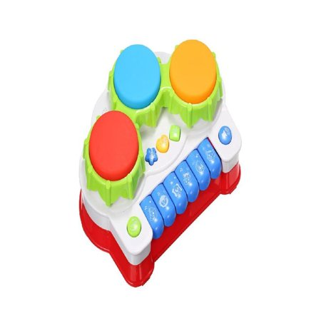 OkrayDirect Hand Drum Toy Three Button Drum Music Piano Gift For One Year Old