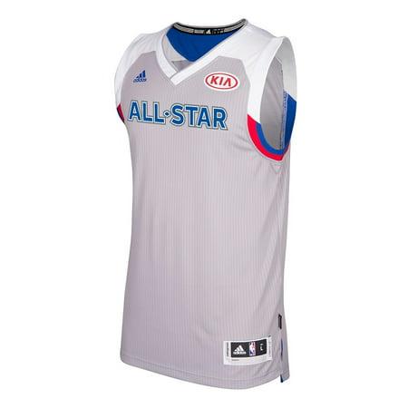 - NBA Eastern All Star Adidas Grey 2017 Official Climacool Swingman Jersey