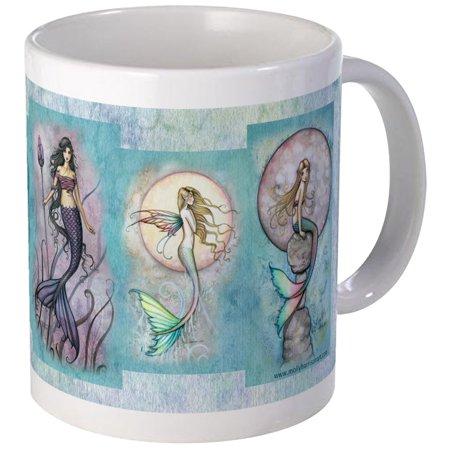CafePress - Many Mermaids By Molly Harrison Mug - Unique Coffee Mug, Coffee Cup CafePress ()