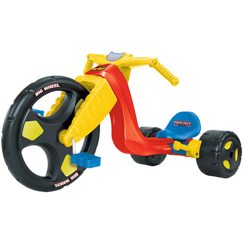 "Kids Only 16"" Spin Out Big Wheel Racer with Spin Out Leve..."