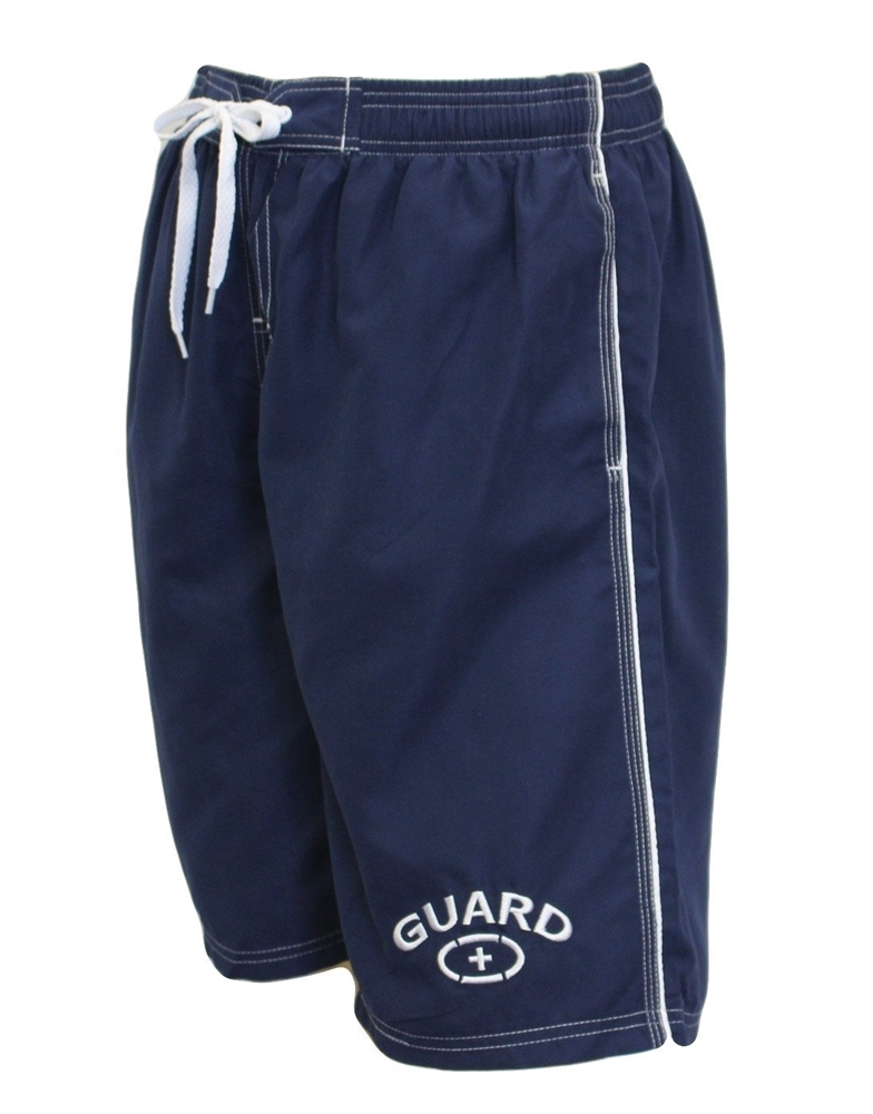 Adoretex Men's Guard Board Short Swimsuit (MG001) - Navy - Small