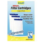 Tetra Whisper Replacement Carbon Aquarium Filter Cartridges, Lg 3-ct