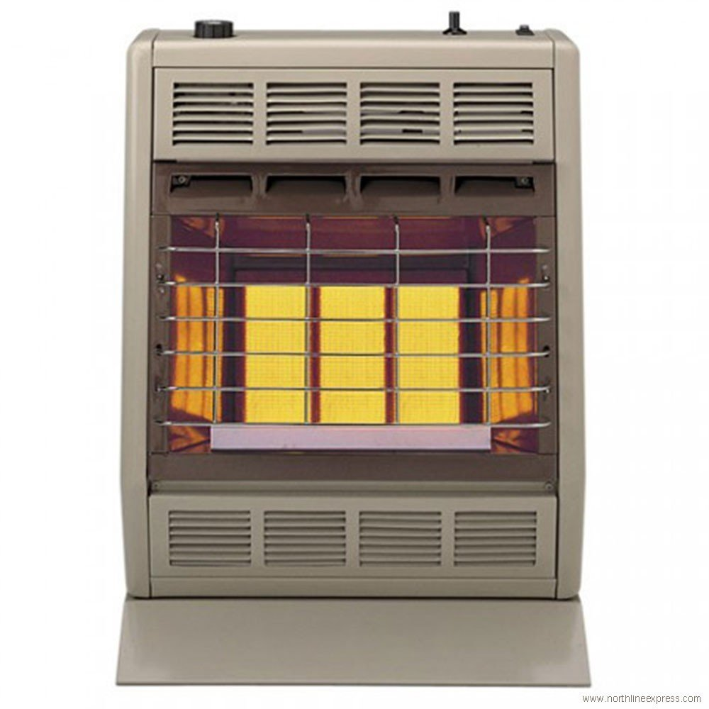 Empire Infrared Heater Natural Gas 18000 BTU, Thermostatic Control