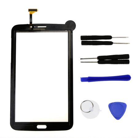 Jeobest Touch Screen Glass Digitizer For Samsung Galaxy TAB 3 Sprint SM-T217s 7.0 Black