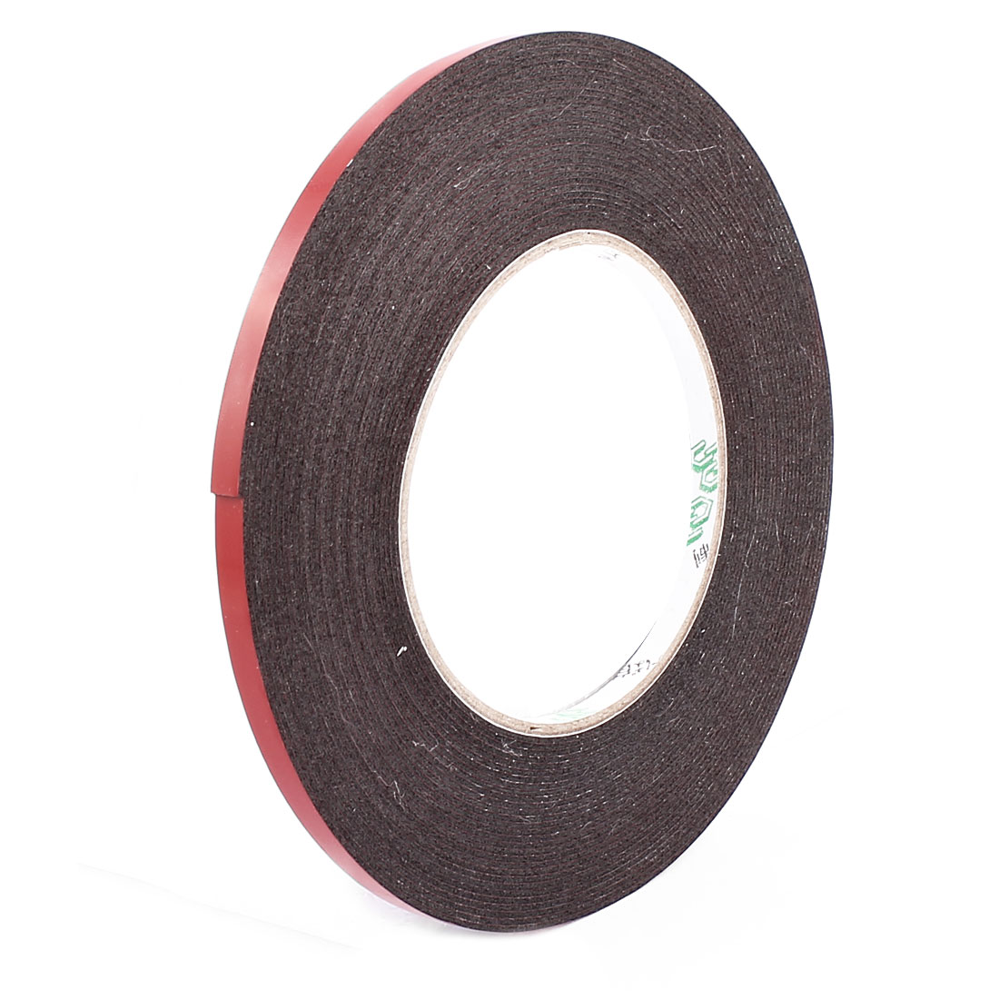 0.6CM Width 10M Length 1MM Thick Dual Sided Sealing Shockproof Sponge Tape Black
