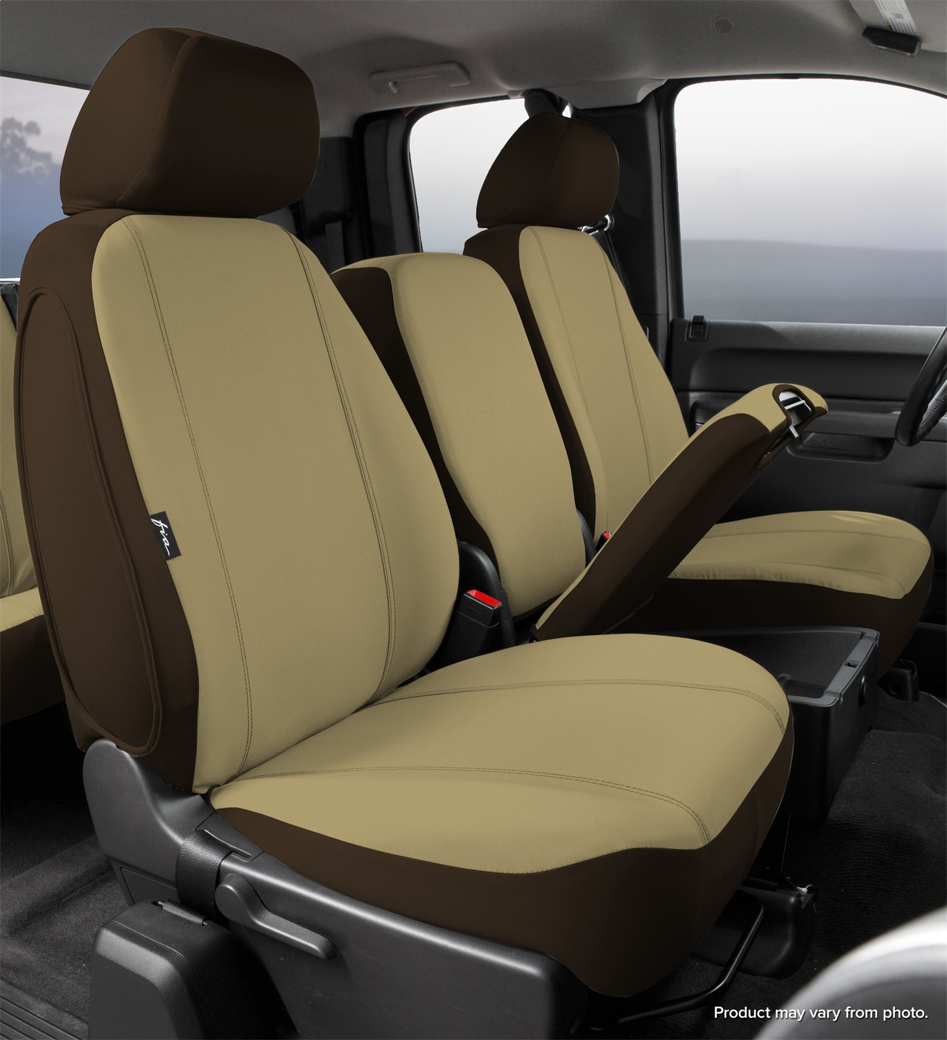 Fia SP88-23TAUPE Seat Protector Custom Seat Cover - image 1 of 2